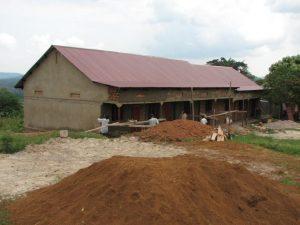Schulgebäude errichtet von der Uganda Kinderhilfe