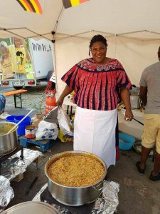 Joyce kochte wieder mal feinstes afrikanisches Essen